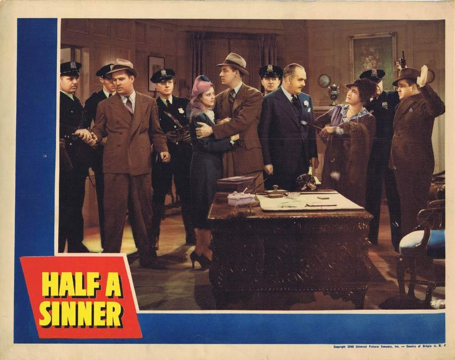 HALF A SINNER Lobby Card Heather Angel