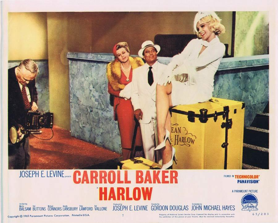 HARLOW Lobby Card 7 Carroll Baker as Jean Harlow