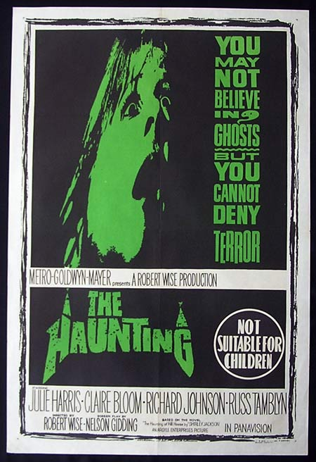 THE HAUNTING Original one sheet Movie Poster Ghosts