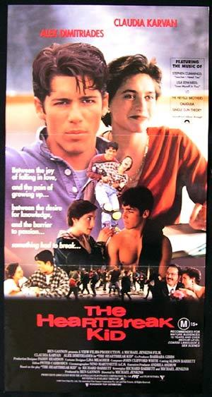 THE HEARTBREAK KID 1984 Alex Dimitriades Australian daybill movie poster