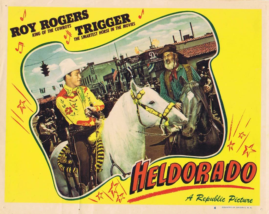 Heldorado, William Witney, Roy Rogers Trigger