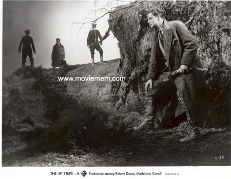 THE 39 STEPS Alfred Hitchcock RARE Movie Still 3