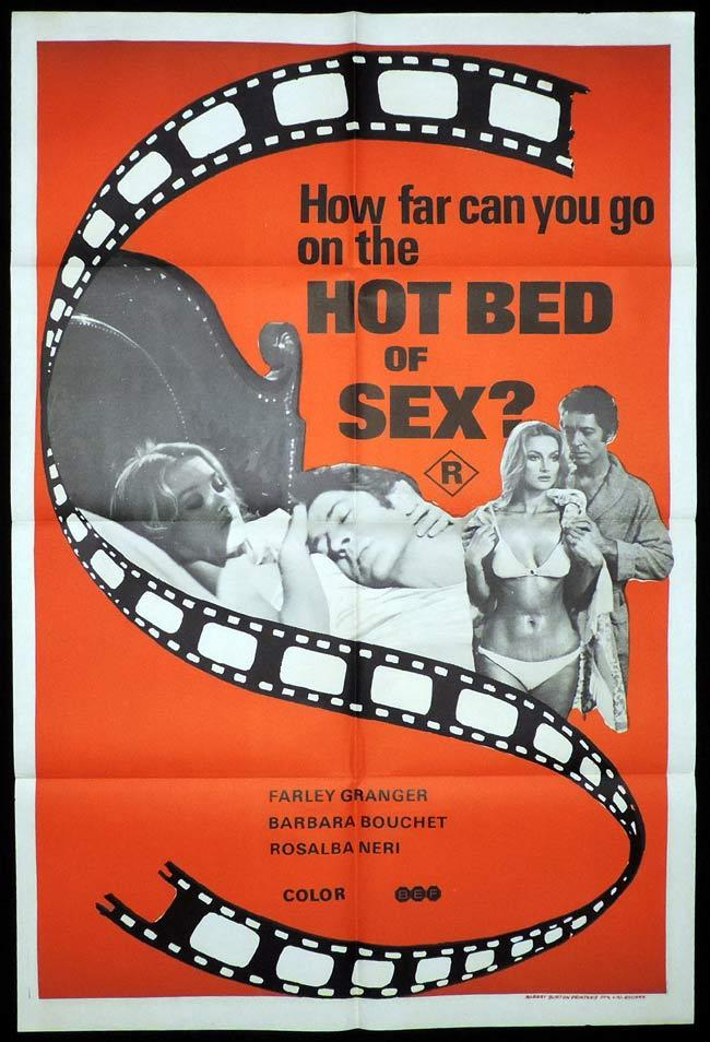 HOT BED OF SEX aka AMUCK One Sheet Movie Poster Farley Granger