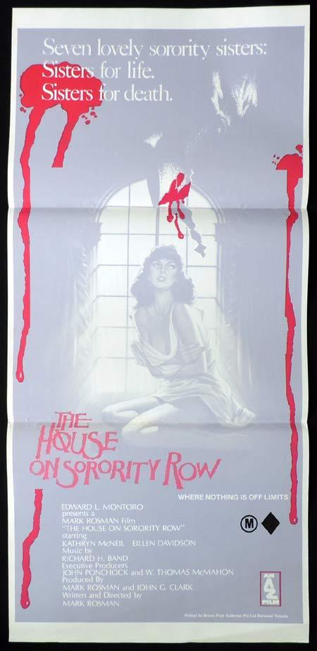 The House on Sorority Row, Mark Rosman, Kate McNeil, Eileen Davidson, Janis Ward, Robin Meloy