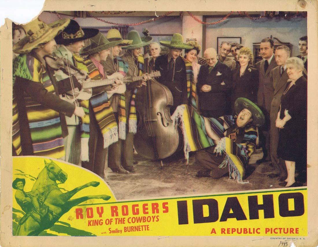 IDAHO Lobby Card Roy Rogers Trigger Dale Evans