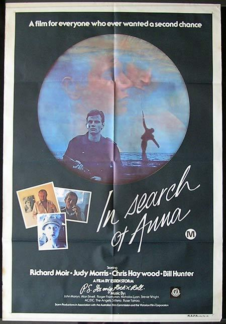 IN SEARCH OF ANNA Movie Poster 1978 Classic AUSTRALIAN FILM Rare One sheet