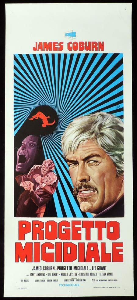 THE INTERNECINE PROJECT Italian Locandina Movie Poster James Coburn