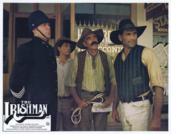 THE IRISHMAN 1978 Australian Lobby Card 8 Michael Craig Donald Crombie