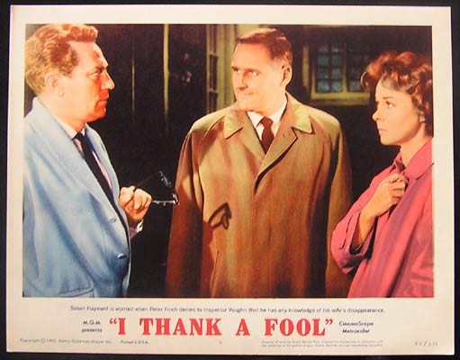 I THANK A FOOL Susan Hayward 1962 Lobby Card 5