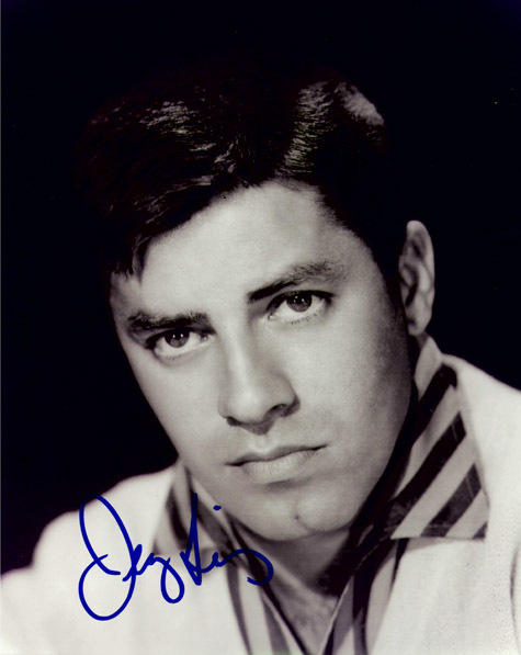JERRY LEWIS Autograph 8 x 10 Photo
