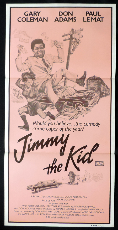 JIMMY THE KID Vintage daybill Movie poster Gary Coleman Don Adams Paul LeMat