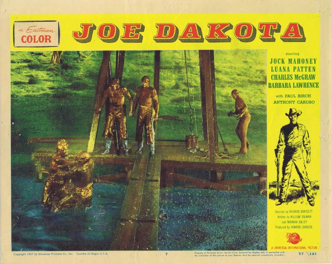 JOE DAKOTA Lobby Card 7 Jock Mahoney Luana Patten Charles McGraw
