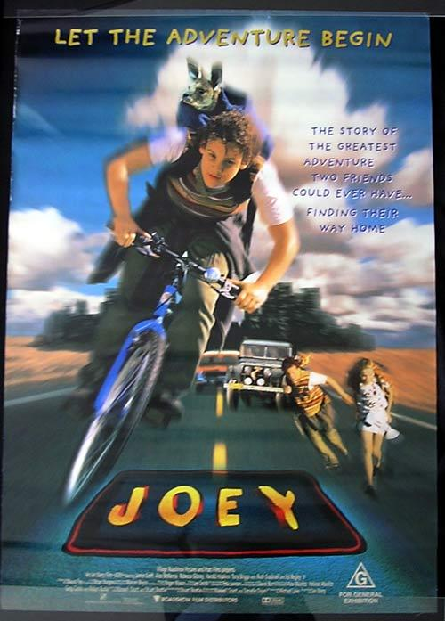 JOEY Movie poster 1997 Jamie Croft Rebecca Gibney Australian Cinema One sheet