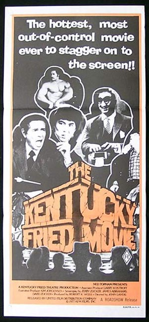 The KENTUCKY FRIED MOVIE '77 John Landis Daybill Movie poster