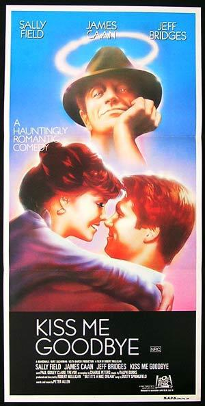 KISS ME GOODBYE Original Daybill Movie Poster Sally Field James Caan Jeff Bridges