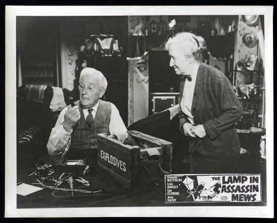 LAMP IN ASSASSIN MEWS Rare British Film Noir Lobby Card 7