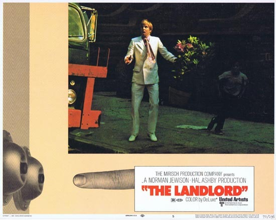THE LANDLORD Lobby Card 5 Beau Bridges