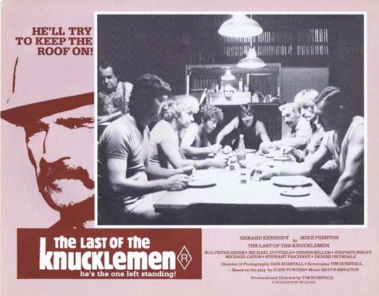 LAST OF THE KNUCKLEMEN 1979 Lobby Card 7 Australian Film Gerard Kennedy