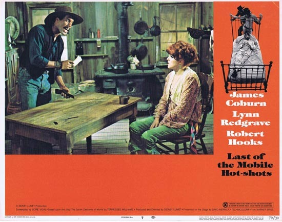 LAST OF THE MOBILE HOT SHOTS 1970 US Lobby card 7 James Coburn