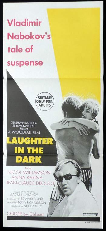 LAUGHTER IN THE DARK Daybill Movie poster Nicol Williamson