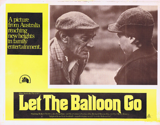 LET THE BALLOON GO Lobby Card 5 1972 John Ewart