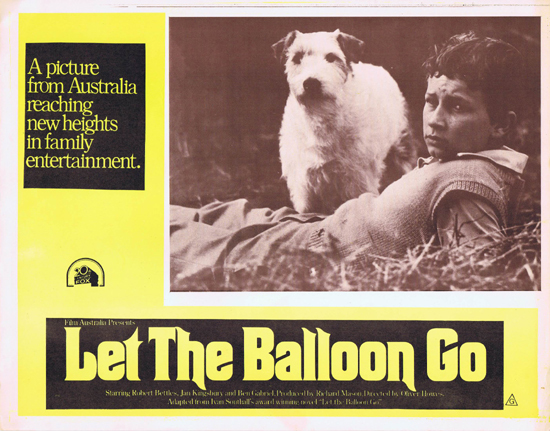 LET THE BALLOON GO Lobby Card 8 1972 Robert Bettles Janet Kingsbury John Ewart  John Ewart