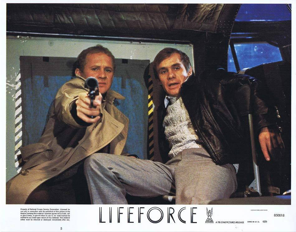 LIFEFORCE Lobby Card 5 Space Vampires Sci Fi Horror