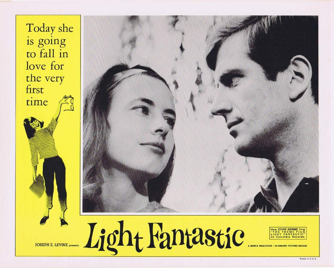 LIGHT FANTASTIC Vintage Movie Lobby Card 3 Dolores McDougal Barry Bartle Jean Shepherd