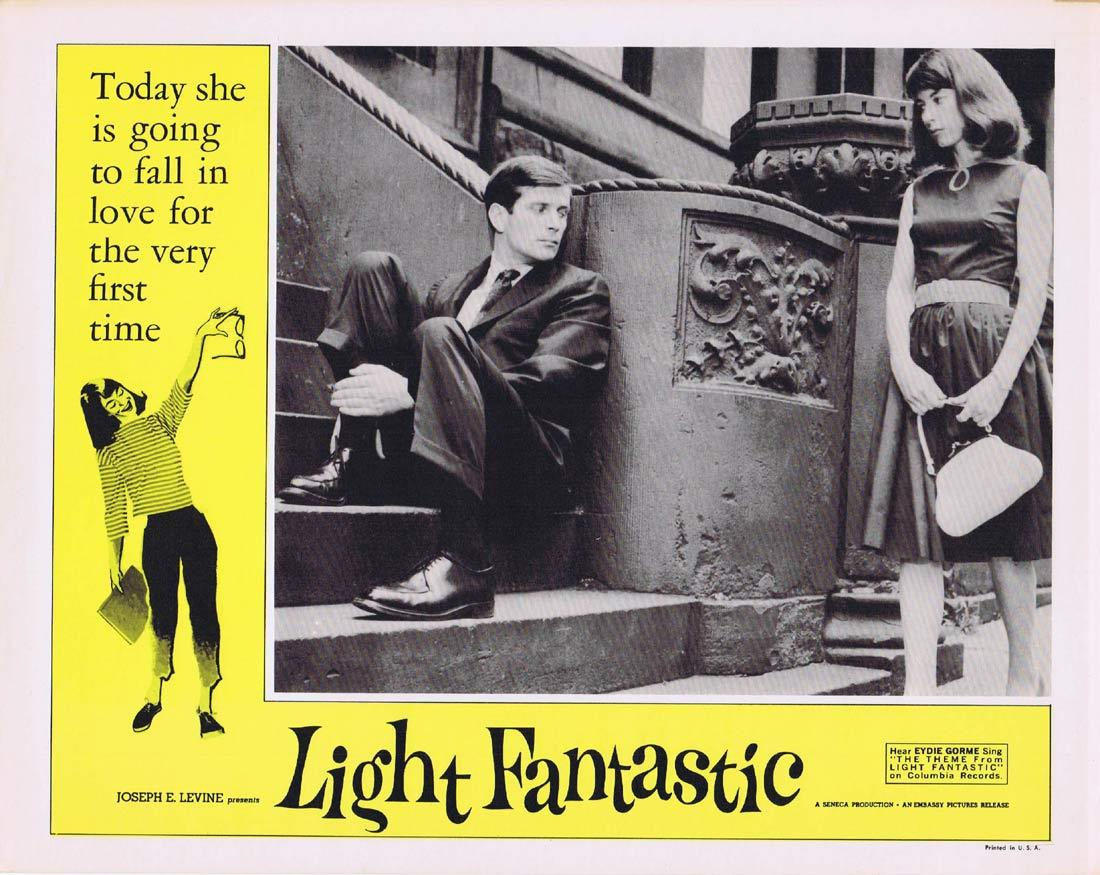 LIGHT FANTASTIC Vintage Movie Lobby Card 4 Dolores McDougal Barry Bartle Jean Shepherd