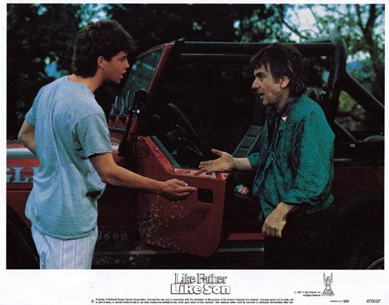 LIKE FATHER LIKE SON 1987 US Lobby card 6 Dudley Moore