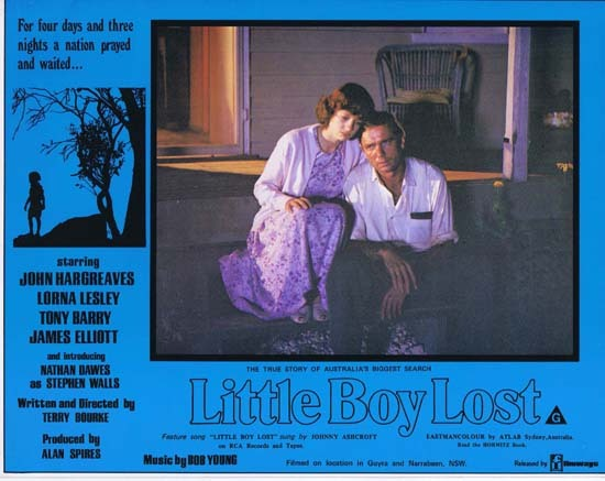 LITTLE BOY LOST 1978 Australian Film Classic Rare Lobby Card 2
