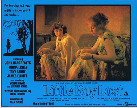 LITTLE BOY LOST 1978 Australian Film Classic Rare Lobby Card 4