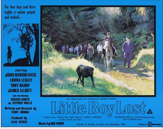 LITTLE BOY LOST 1978 Australian Film Classic Rare Lobby Card 5