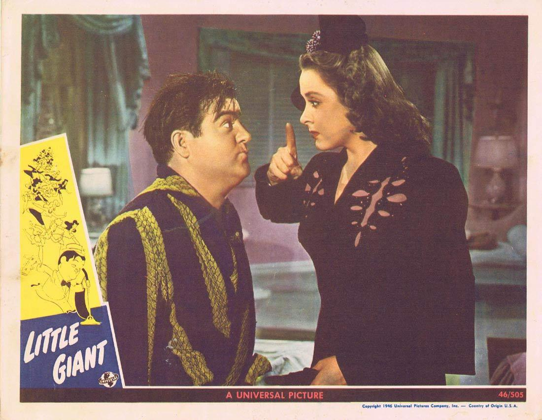 LITTLE GIANT Lobby Card 2 Abbott and Costello