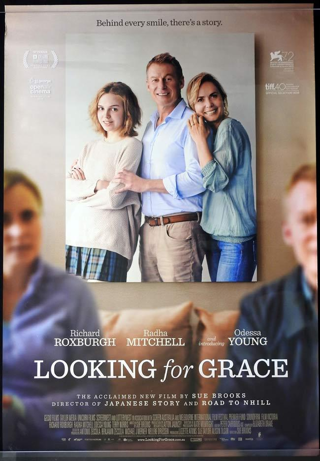LOOKING FOR GRACE Australian One sheet movie poster Radha Mitchell Richard Roxburgh Odessa Young
