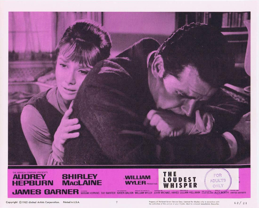 THE LOUDEST WHISPER Lobby Card 7 Shirley MacLaine Audrey Hepburn Childrens Hour