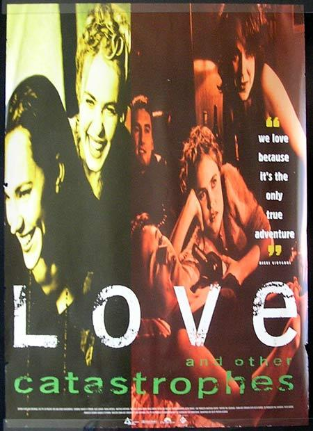 LOVE AND OTHER CATASTROPHIES  1996 1 sheet Movie poster Matt Day