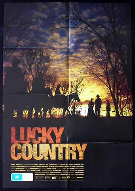 LUCKY COUNTRY Movie Poster 2009 Australian One sheet