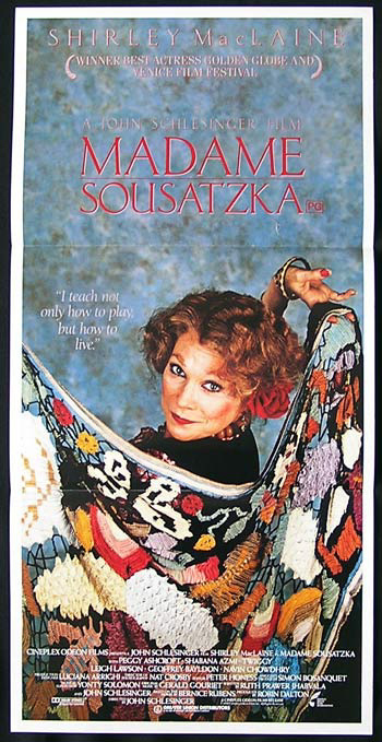 MADAME SOUSATZKA Original Daybill Movie Poster Shirley MacLaine