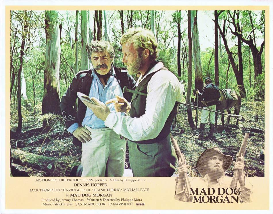 MAD DOG MORGAN Australian Lobby Card 7 Michael Pate Jack Thompson