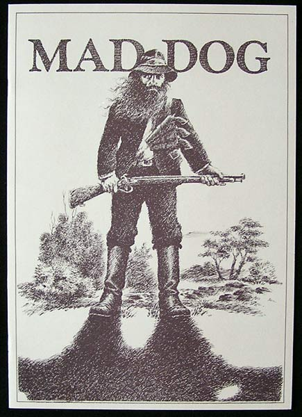 MAD DOG MORGAN 1976 Rare Country of Origin Original Movie Programme