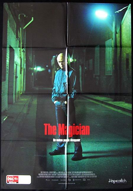 MAGICIAN Movie Poster 2009 Scott Ryan Australian One sheet