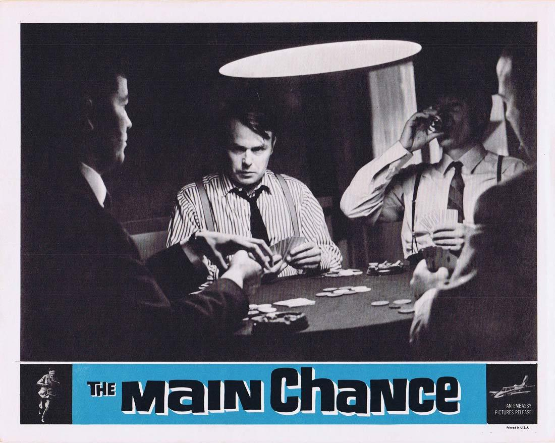 THE MAIN CHANCE Vintage Movie Lobby Card 3 Edgar Wallace Gregoire Aslan Tracy Reed