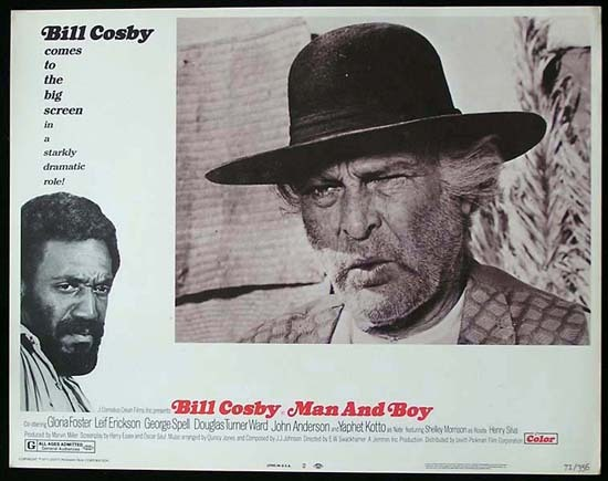 MAN AND BOY 1971 Bill Cosby ORIGINAL US Lobby card 2