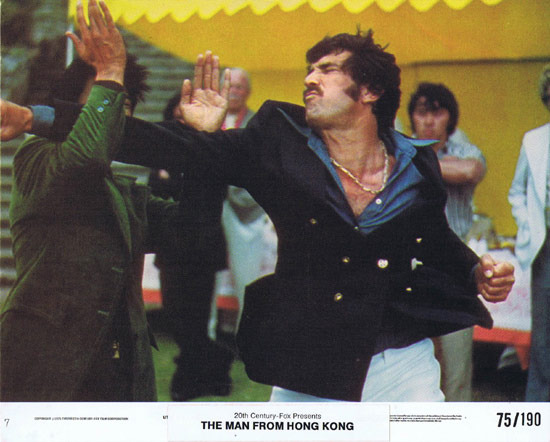 MAN FROM HONG KONG 1975 George Lazenby US Colour Movie Still 7