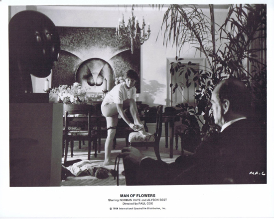 MAN OF FLOWERS Rare Movie Still 3 Alyson Best Norman Kaye AUSTRALIAN FILM