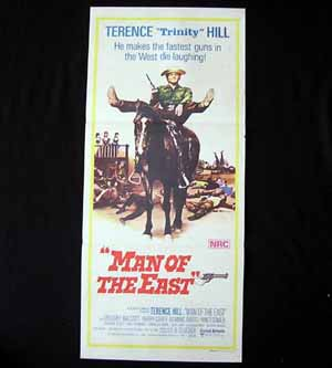 MAN OF THE EAST-Terence Hill-ORIGINAL poster