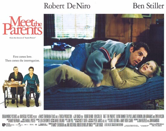 MEET THE PARENTS Lobby Card 2 Ben Stiller Robert DeNiro