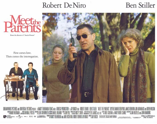 MEET THE PARENTS Lobby Card 8 Ben Stiller Robert DeNiro