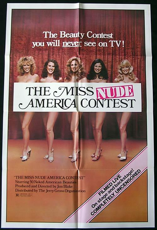 MISS NUDE AMERICA '76 Harry Reems US One sheet poster